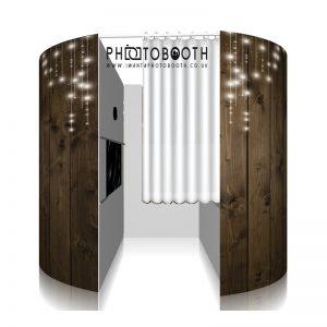 Rustic Photo Booth Skin